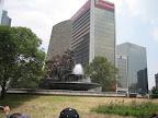 fountain near Chapultepec Park