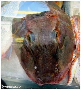 Рыба на заказ в Анадолу Кавагы.
