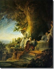 Rembrandt-Grab-Christi