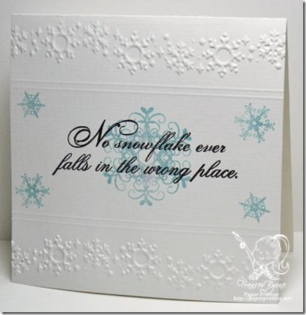 PWC158 Snowflakes wm