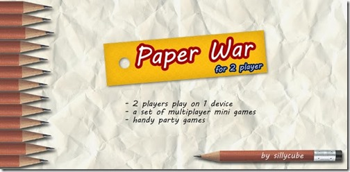Paper War for 2 Players
