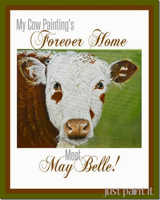 My Cow Painting's Forever Home