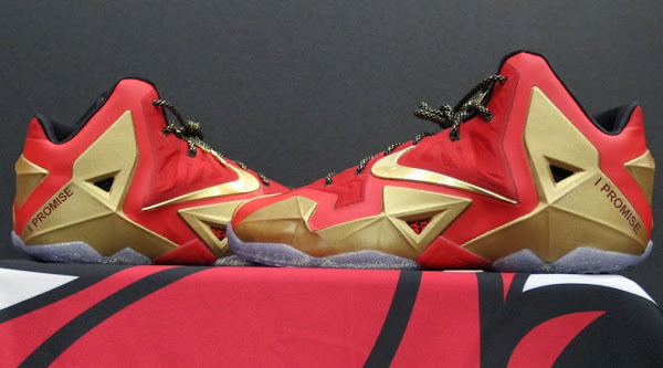 LeBron James8217 Nike LeBron XI Ring Night Player Exclusive