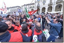 Festa dei lavoratori a Torino