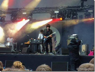 Rock en Seine 2011, Les Hush