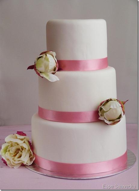 tarta boda tres pisos espe saavedra ret