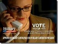 HillaryAnswerCall