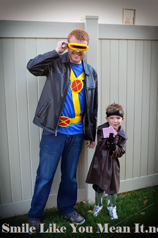 Cyclops and Gambit Costumes