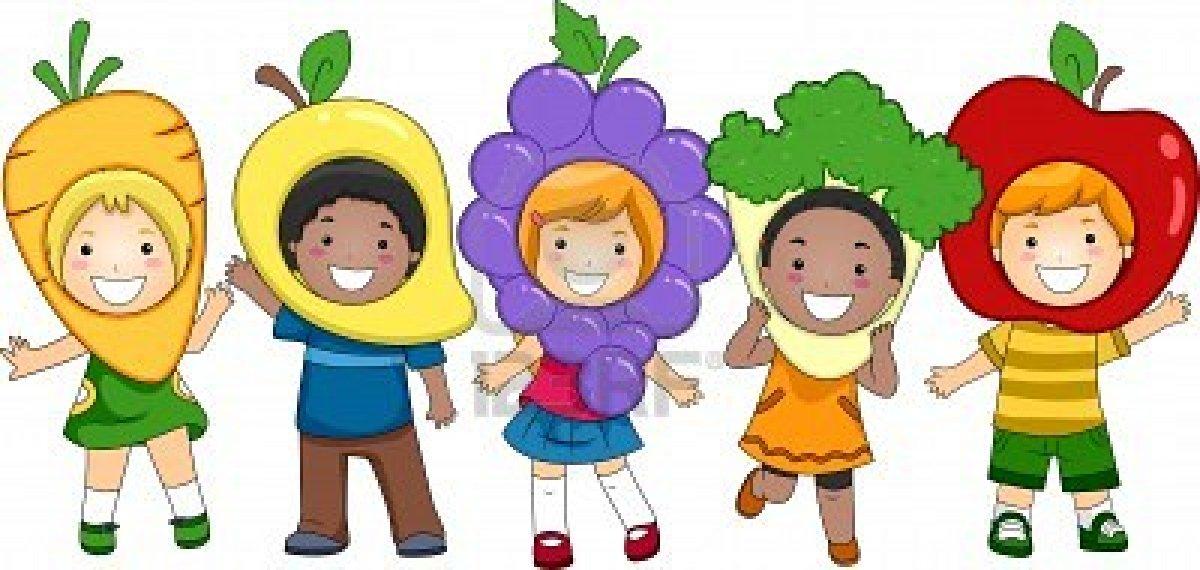 Healthy Children Clip Art