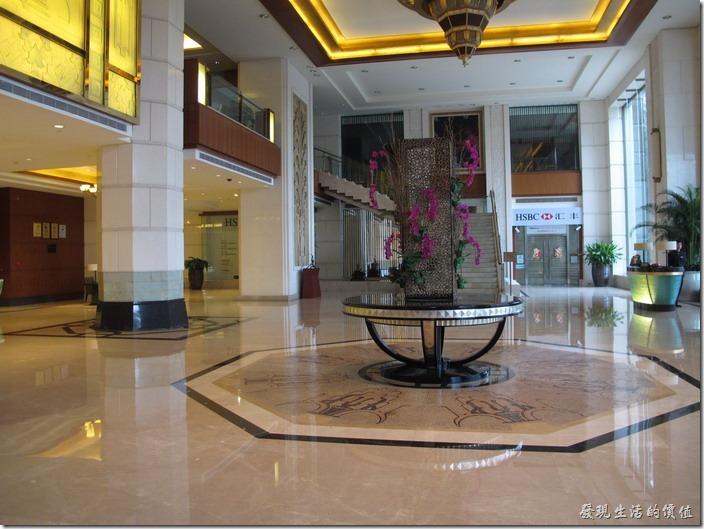 惠州-康帝國際酒店。大廳堂