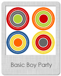 basic boy party