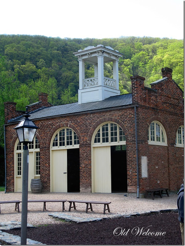 john browns fort harpers ferry wv old welcome
