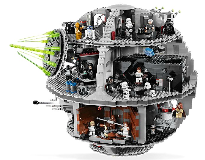 Death Star Lego Kit