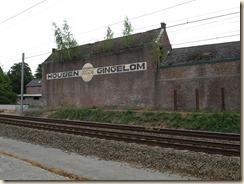 Niel-bij-Sint-Truiden: Zicht op de voormalige molen Houben vanop de Statiestraat