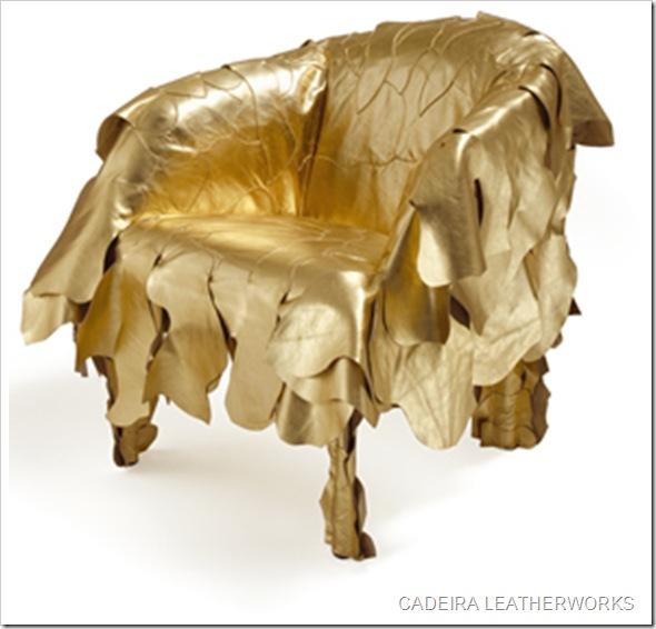 cadeira Leatherworks, dos irmãos Fernando e Humberto Campana