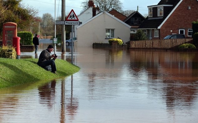Heavy rains have swept through England and Wales in the past week, causing about 940 homes to flood in the southwest and northeast of England and Wales since 21 November 2012, according to the U.K.'s Environment Agency. The damage caused by the recent weather brings the overall flood insurance bill for 2012 to 1 billion pounds, the most since 2007. Matt Cardy / Getty Images