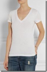 J Crew Vintage Slub Cotton White Tshirt