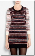 YMC Fair Isle Jumper Dress