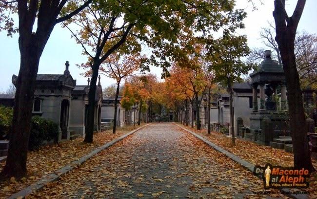 Paris visita cementerio Père Lachaise 6