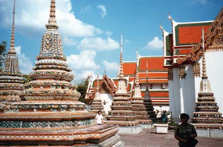 Obiective turistice Thailanda: Wat Pho Bangkok