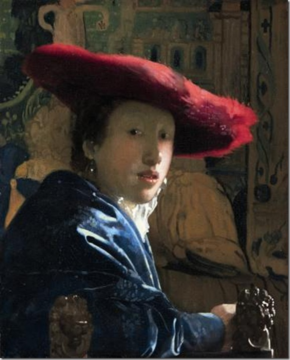 Ragazza con il cappello rosso, 1665-1667 ca - National Gallery of Art, Washington