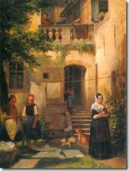 01_Moritz_Daniel_Oppenheim-_Der_Bleichgarten,_1842