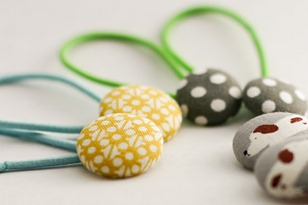 hair button elastics tutorial