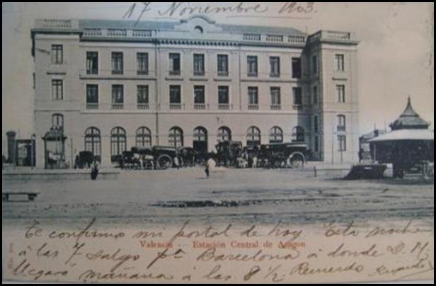 ESTACION DE ARAGON 1903