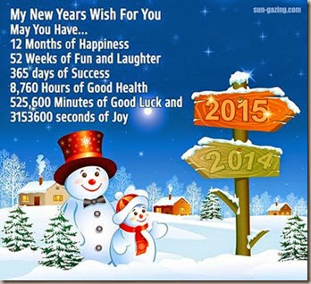 new years wish for all