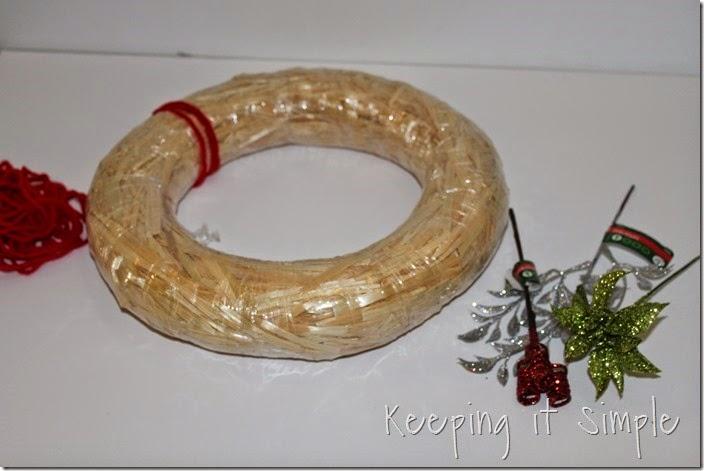 framed Christmas wreath (12)