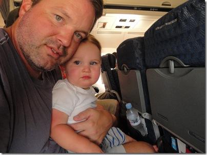 2.  Plane ride home