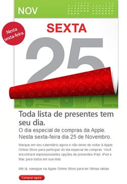 Apple Brasil - Black Friday