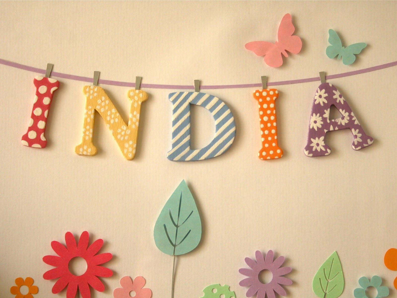 Mrs Peabod - A designers Inspiration board: Baby name prints