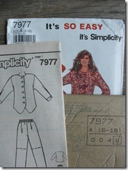 Simplicity 7977 pattern