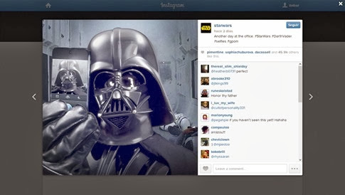 Star Wars Instagram