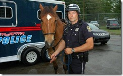 Atlanta mounted police