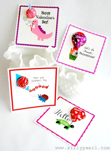 The Silly Pearl - Free Printable Valentines