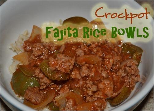 fajita rice bowl