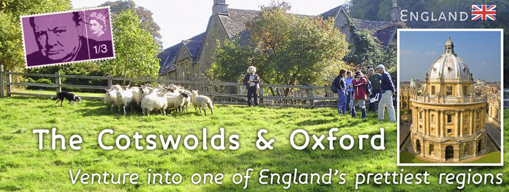 England - Cotswolds &amp; Oxford | http://www.thewayfarers.com/walking-tours/uk-walking-tours/the-cotswolds-and-oxford/