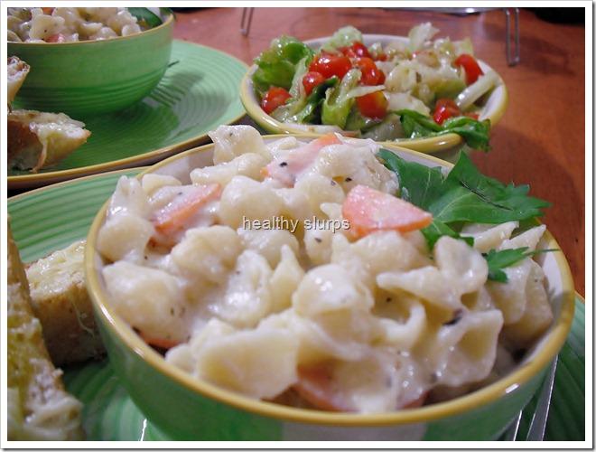 Low calorie pasta