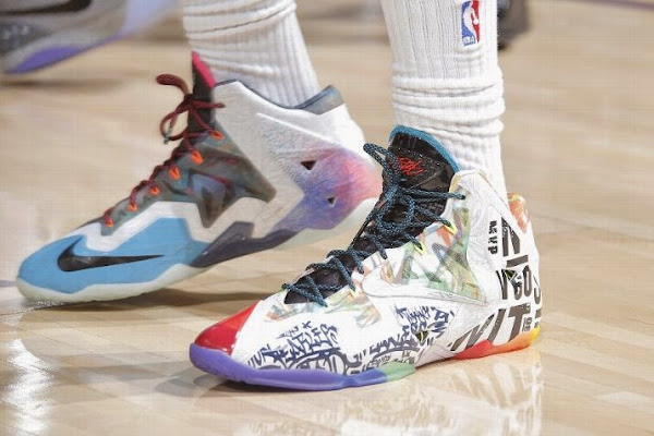 Wearing Brons DeMarcus Cousins in 8220What the LeBron8221 118217s