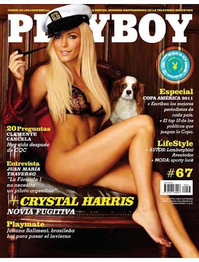 Revista: Playboy [Argentina] - Crystal Harris [PDF | Español | 29.10 MB]