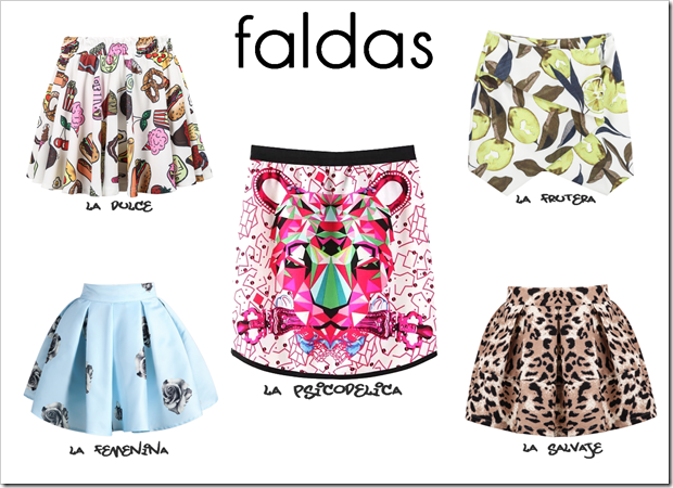 Shopping favoritos Sheinside tendencia 02 faldas