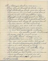 Gedicht 10 jarig bestaan 'Een in Streven' blz. 6