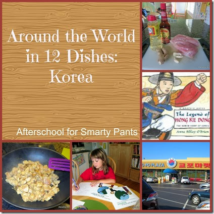 Afterschool for Smarty Pants: Korean cooking, activities and books