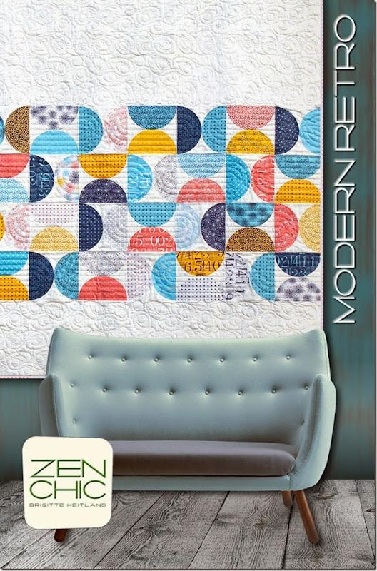 Modern Retro quilt pattern ZEN CHIC