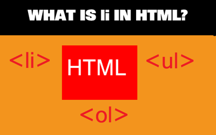 HTML li