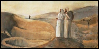 Road to Emmaus, by John Dunne