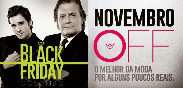camisaria colombo novembro black friday