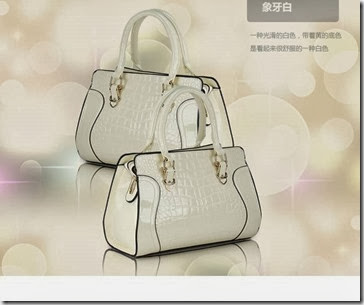 U7728 White (217.000) - PU Leather, 28 x 20 x 10